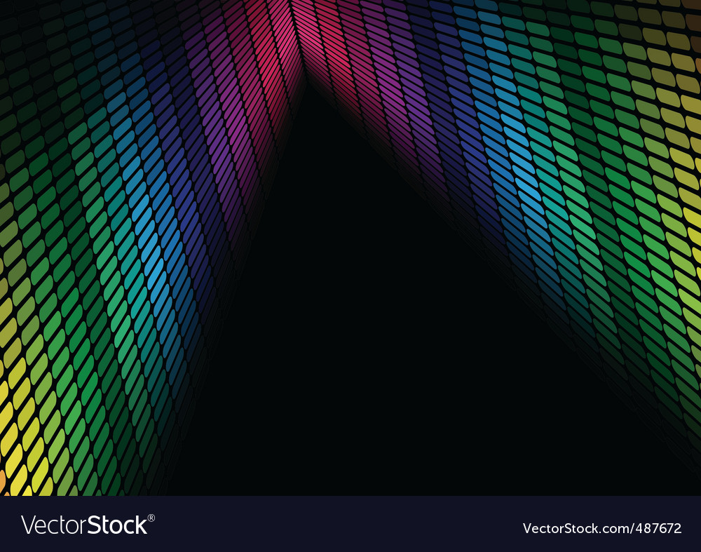 Abstract background multicolor equalizer vector | Price: 1 Credit (USD $1)