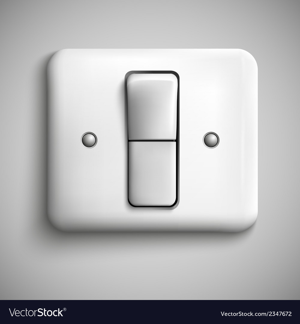 Button switch vector | Price: 1 Credit (USD $1)
