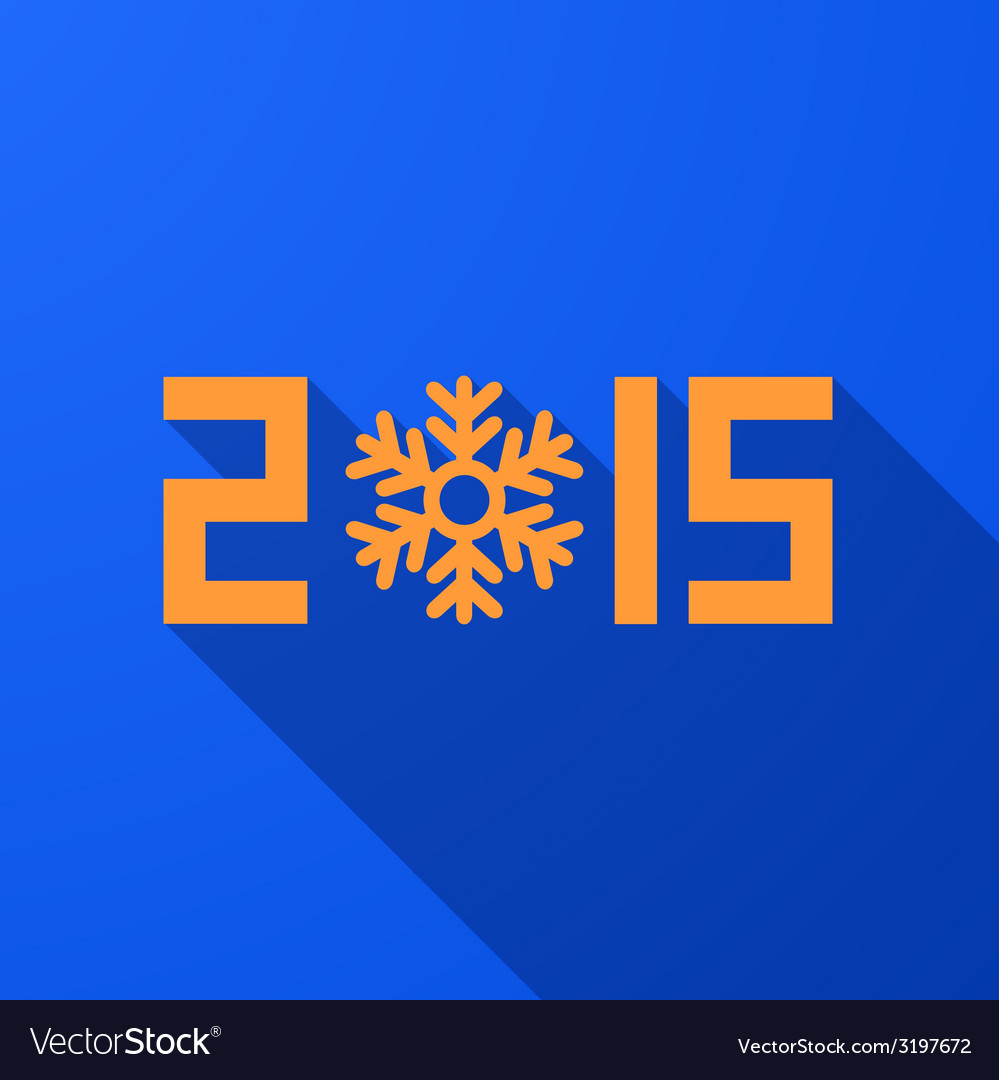 Modern new year 2015 background vector | Price: 1 Credit (USD $1)