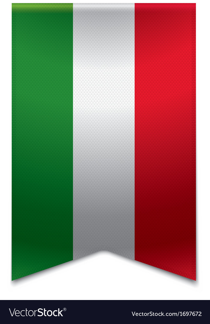 Ribbon banner - hungarian flag vector | Price: 1 Credit (USD $1)