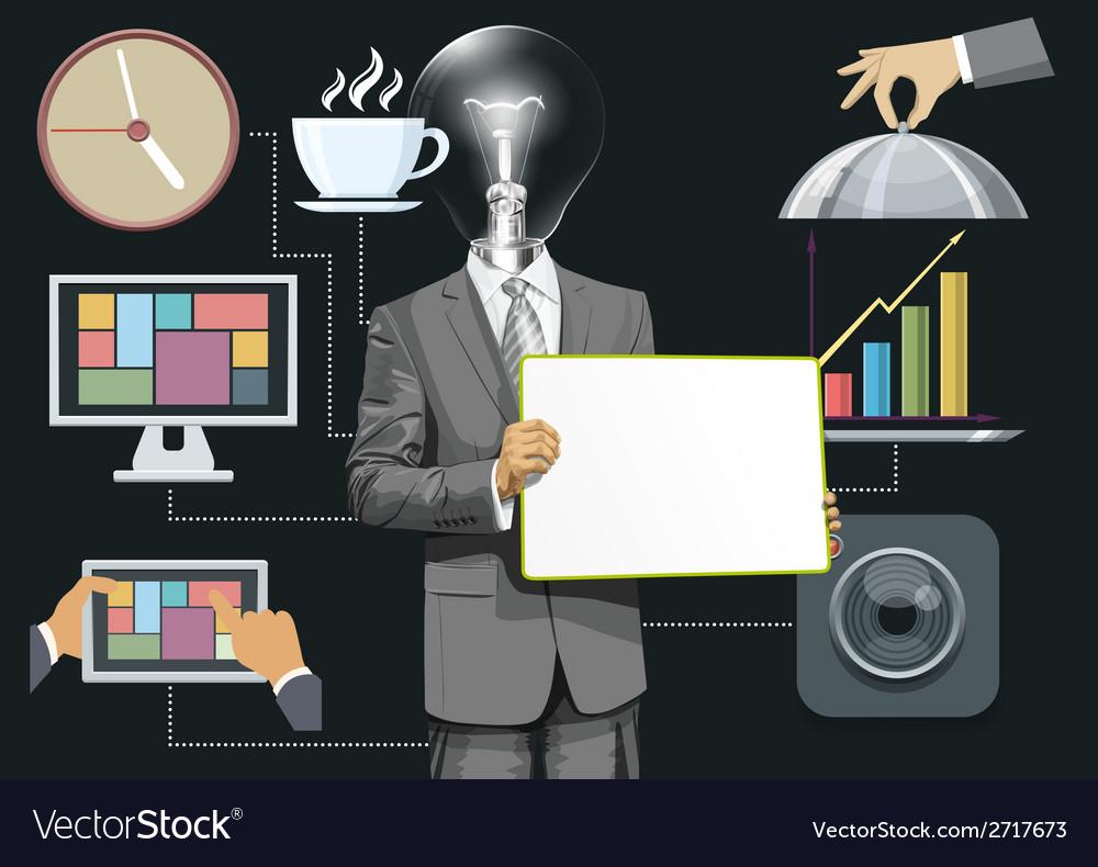 Brainstorm vector | Price: 3 Credit (USD $3)
