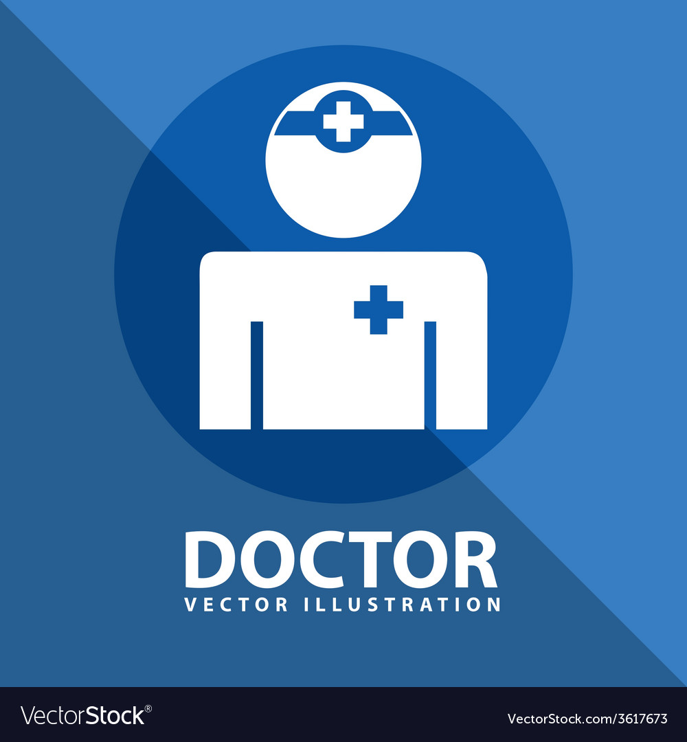 Doctor icon design vector | Price: 1 Credit (USD $1)