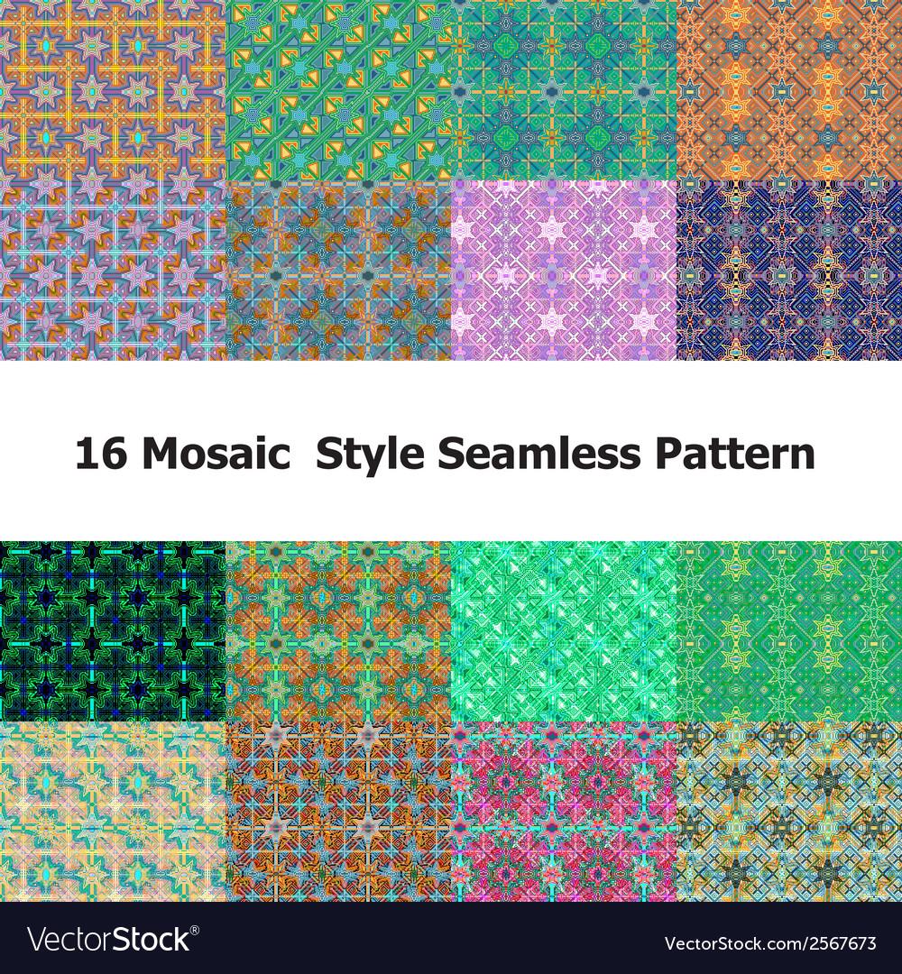 Mosaic 0ne vector | Price: 1 Credit (USD $1)