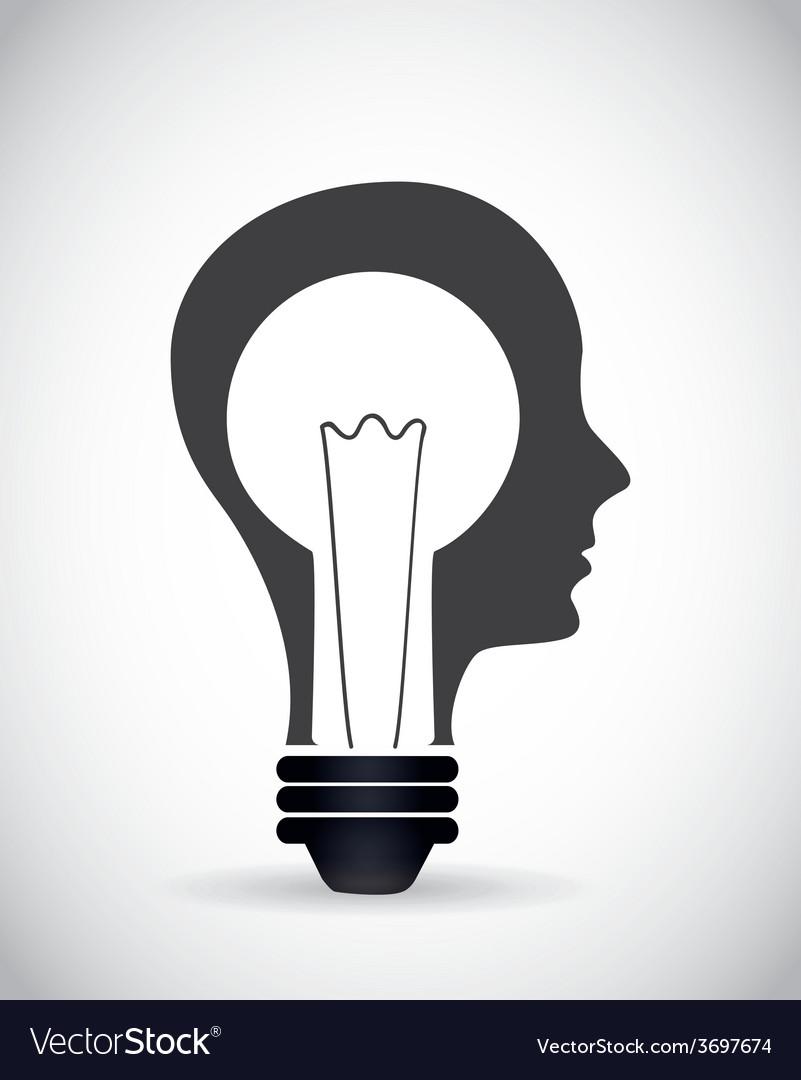 Idea icon vector   Price: 1 Credit (USD $1)