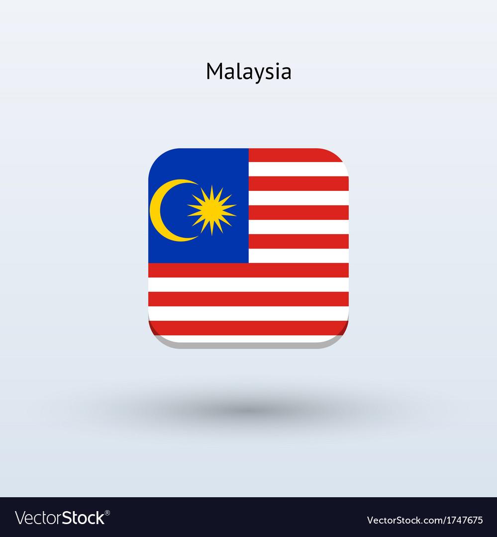 Malaysia flag icon vector | Price: 1 Credit (USD $1)