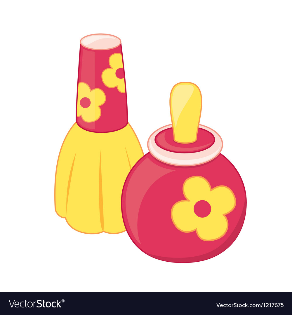Toy perfume bottles vector | Price: 1 Credit (USD $1)