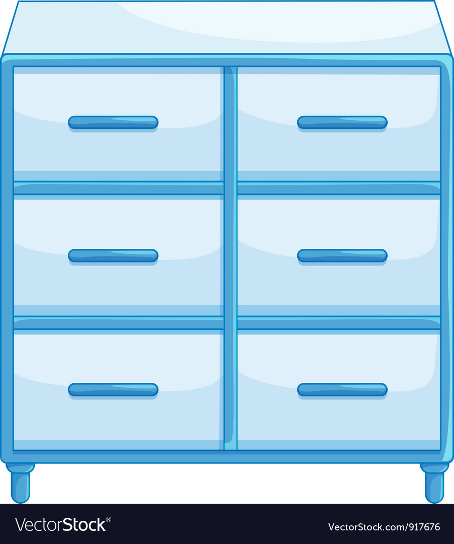 Drawers vector | Price: 3 Credit (USD $3)
