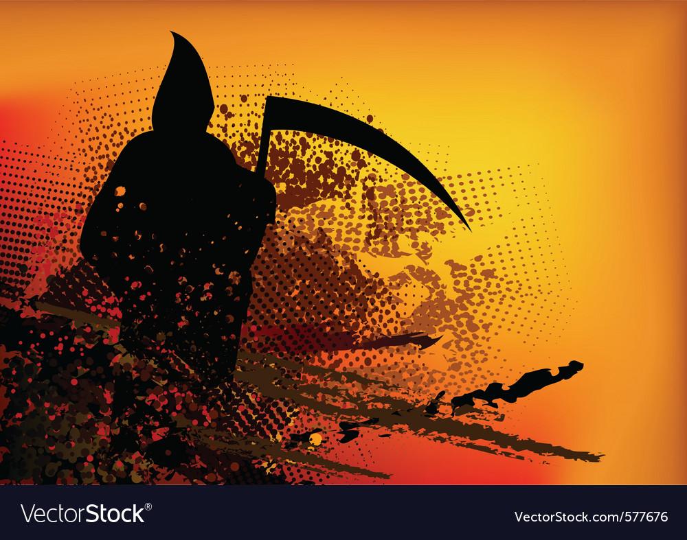 Silhouette reaper vector   Price: 1 Credit (USD $1)
