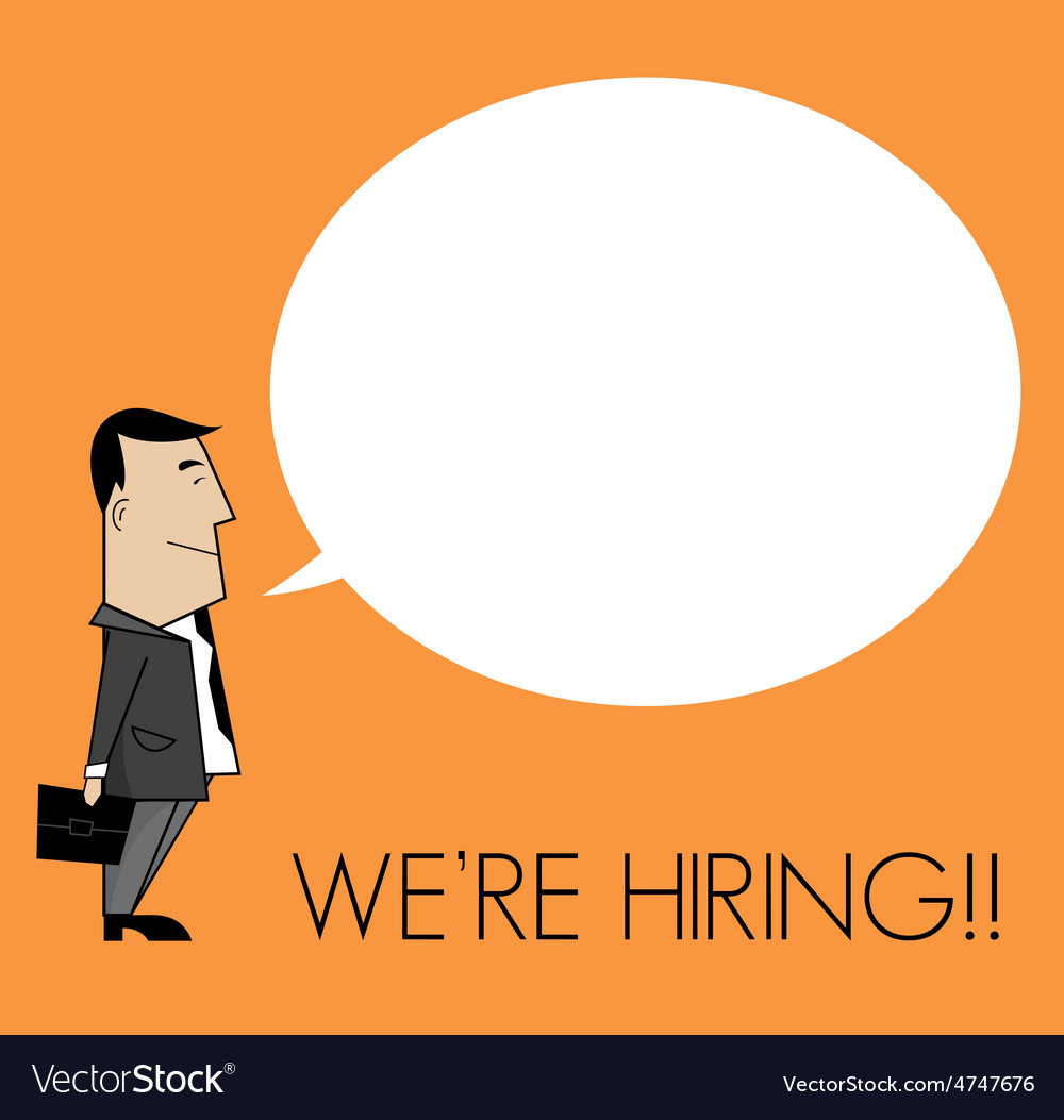 We are hiring1 resize vector | Price: 1 Credit (USD $1)