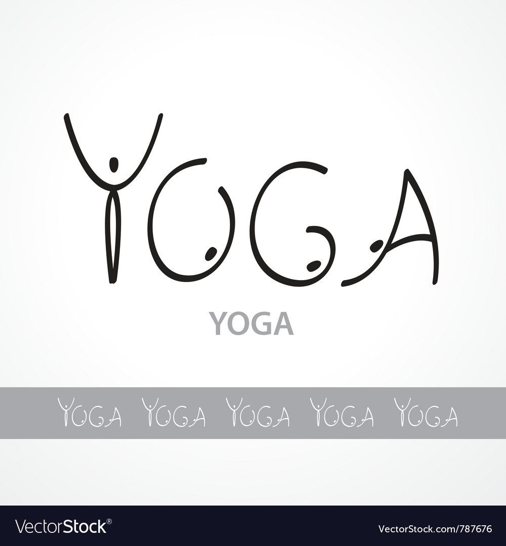 Yoga logotype vector | Price: 1 Credit (USD $1)