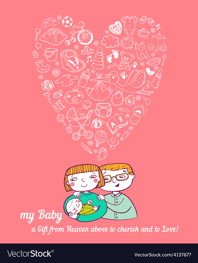 Baby care vector | Price: 1 Credit (USD $1)