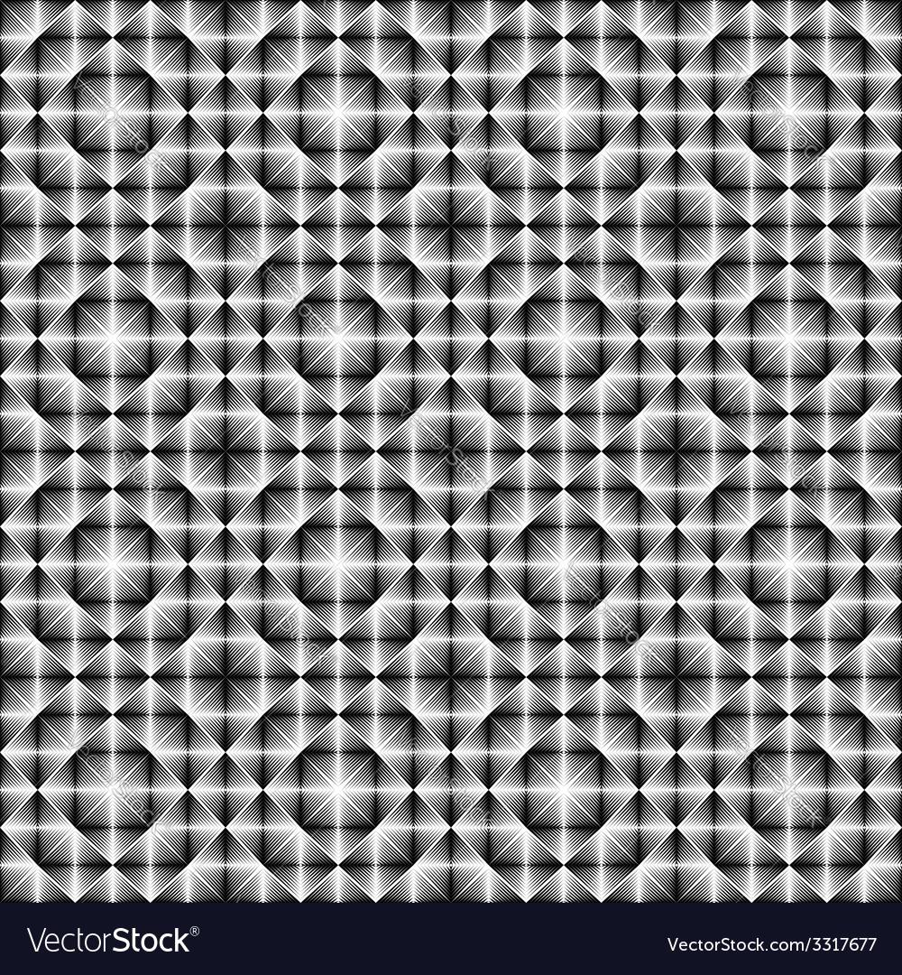 Design seamless square trellised pattern vector   Price: 1 Credit (USD $1)