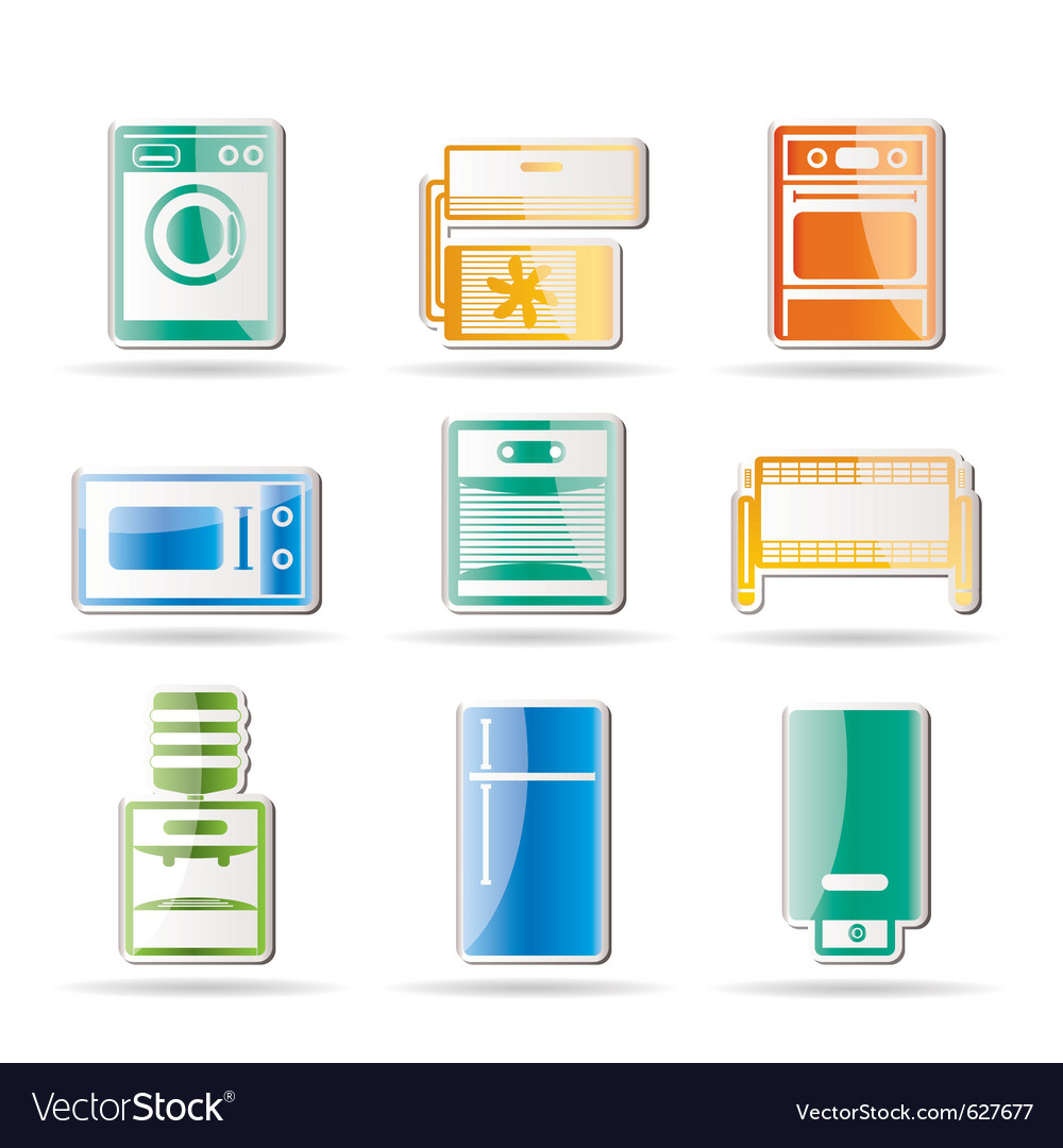 Home electronics and equipment icon vector | Price: 1 Credit (USD $1)