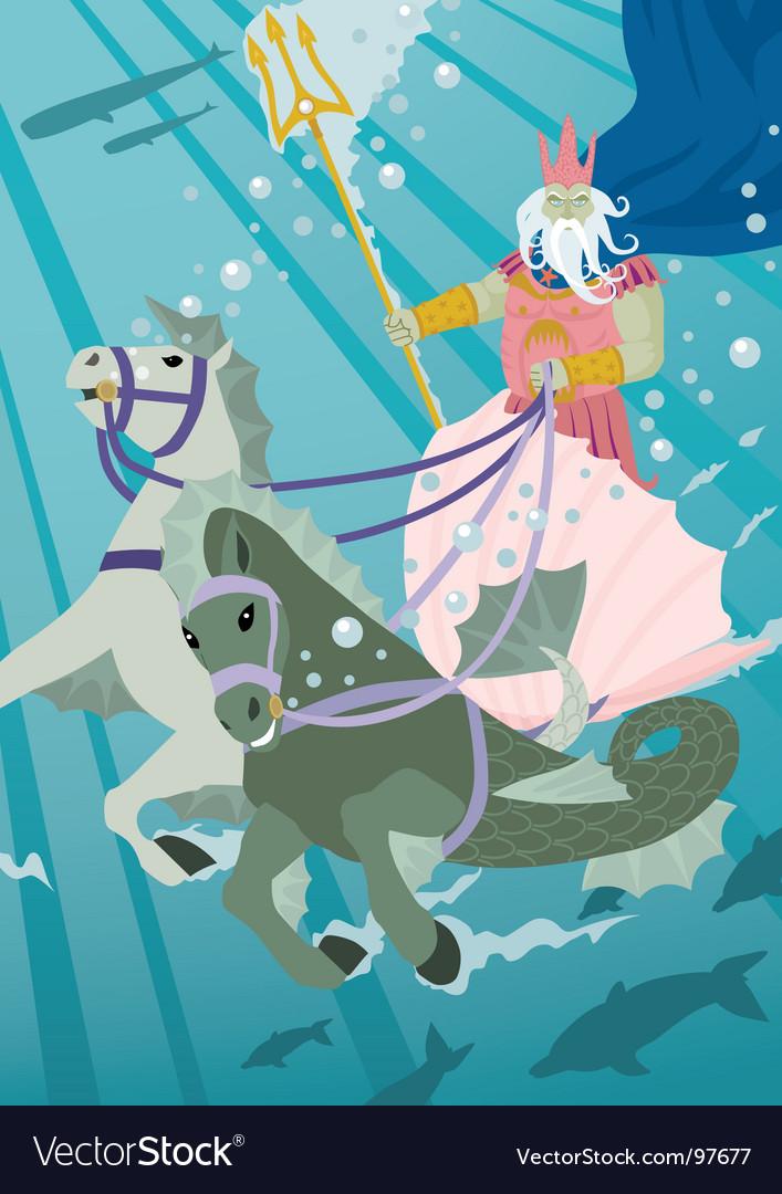Poseidon vector | Price: 1 Credit (USD $1)