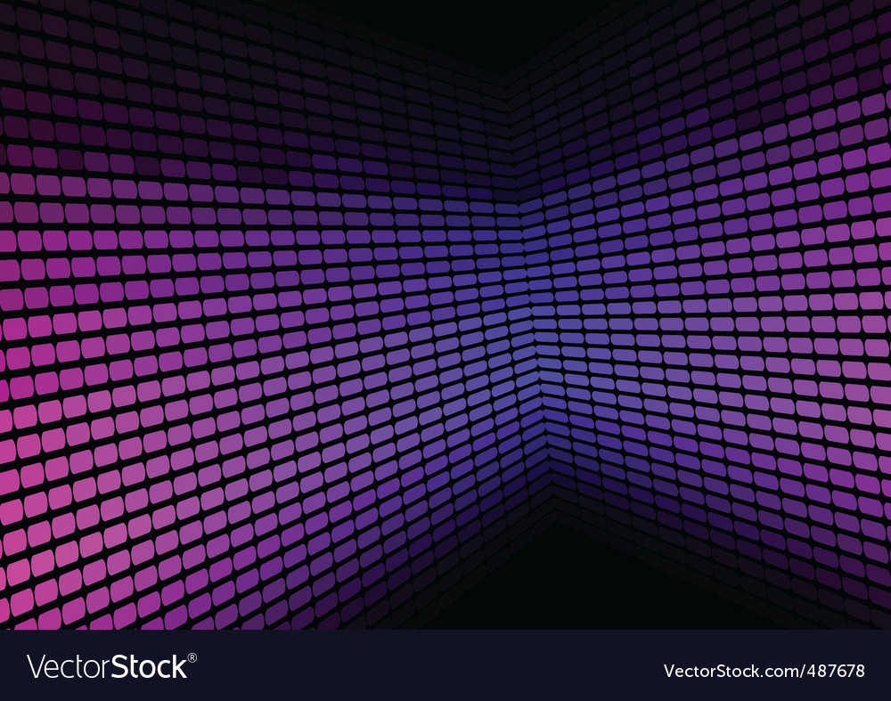Abstract background violet equalizer vector | Price: 1 Credit (USD $1)