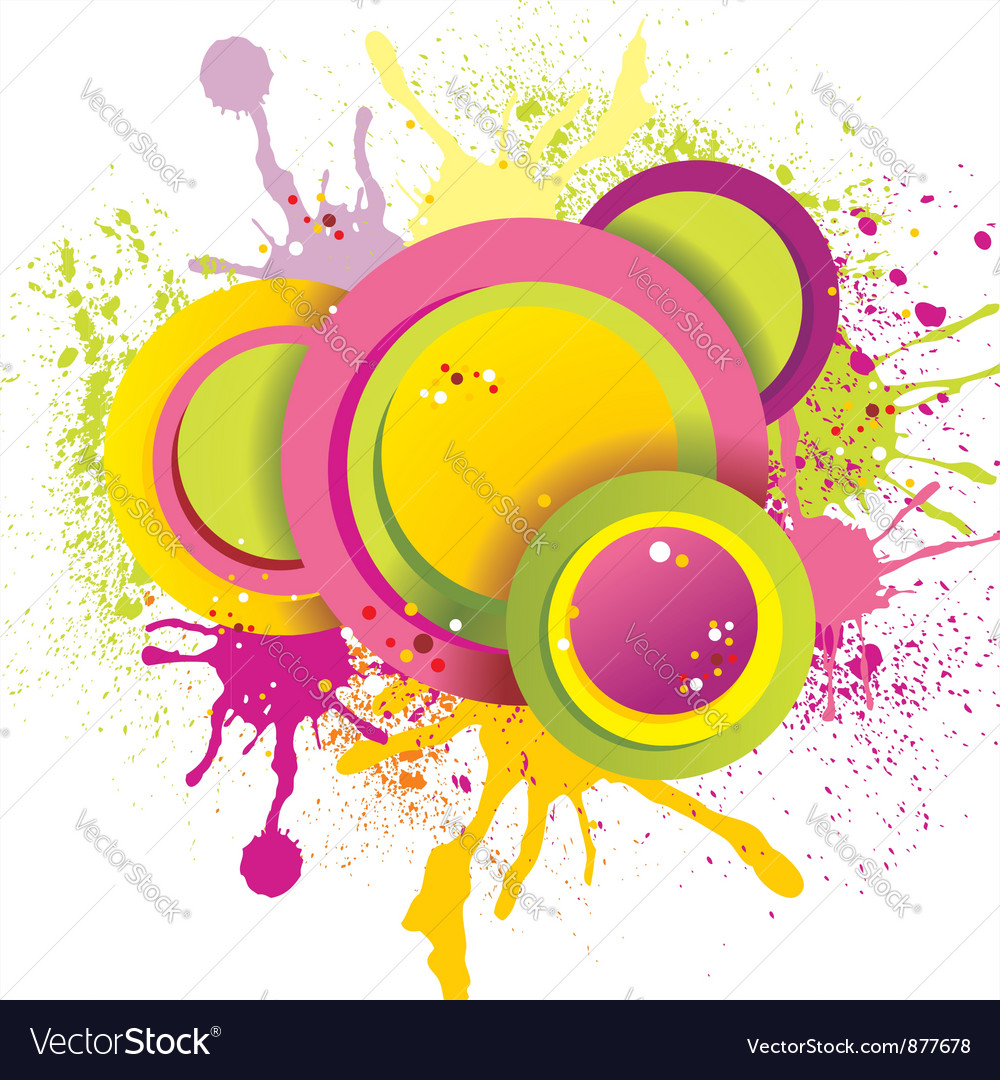 Abstract splash vector | Price: 1 Credit (USD $1)
