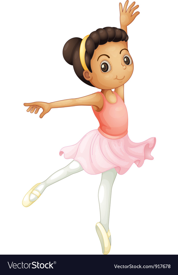 Ballerina vector | Price: 3 Credit (USD $3)