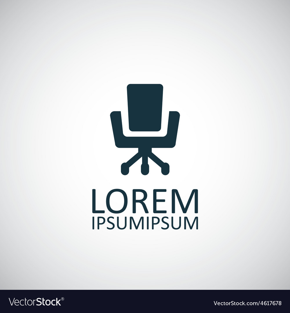 Office chair icon vector | Price: 1 Credit (USD $1)