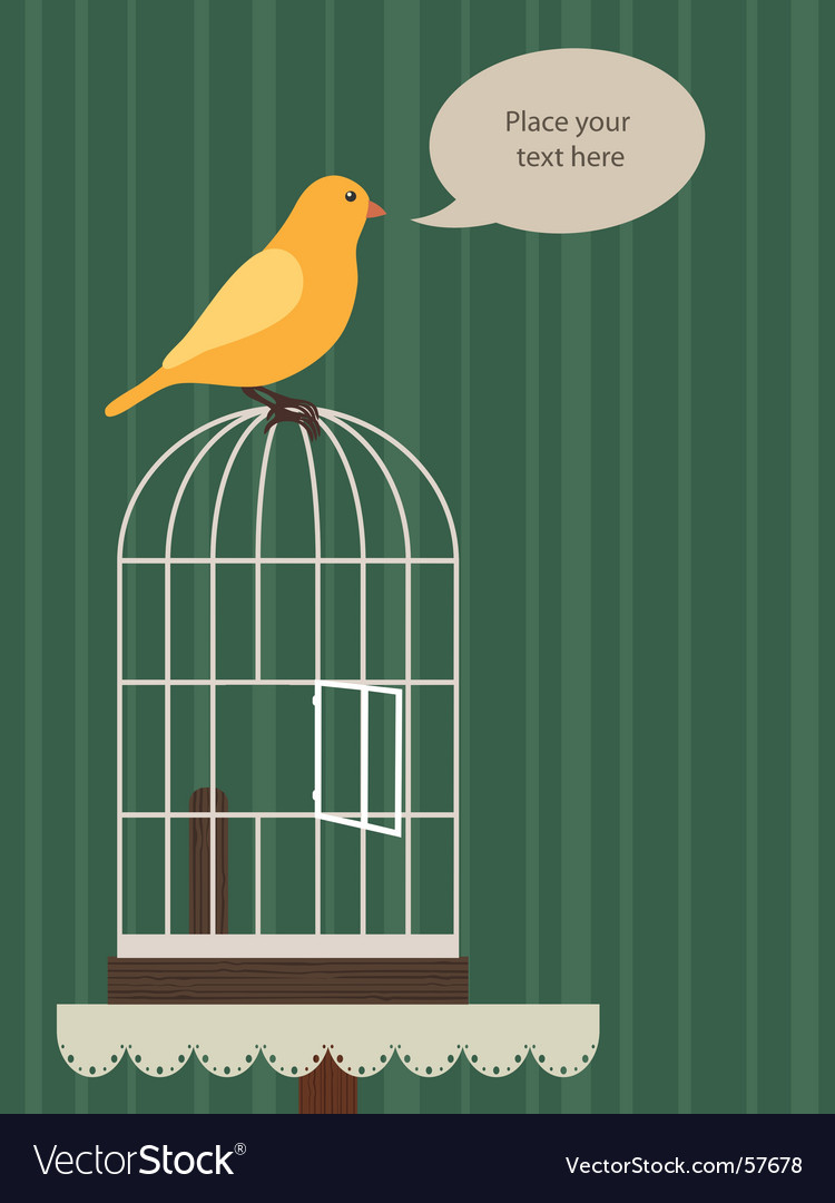 Yellow canary vector | Price: 1 Credit (USD $1)