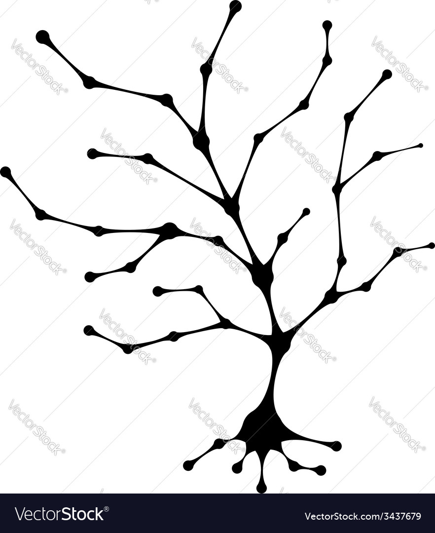 Abstract tree trunk for your design vector | Price: 1 Credit (USD $1)