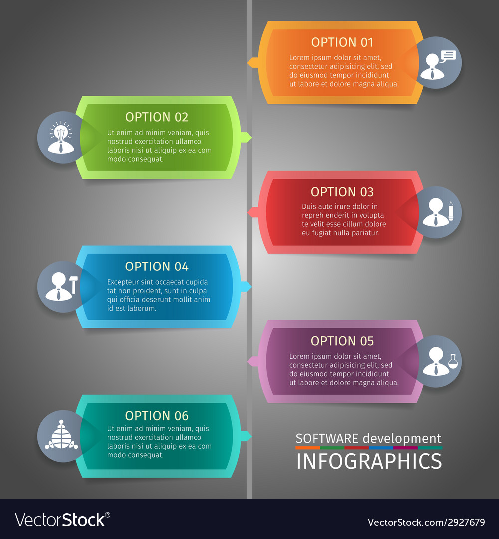 Seo infographics design vector | Price: 1 Credit (USD $1)