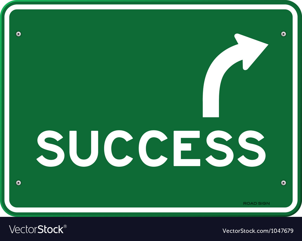 Success sign vector | Price: 1 Credit (USD $1)