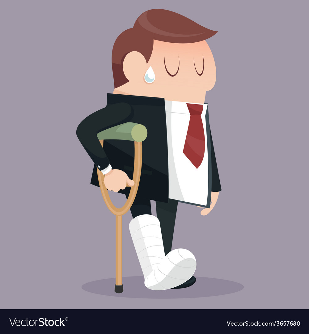 Businessman failure vector | Price: 1 Credit (USD $1)