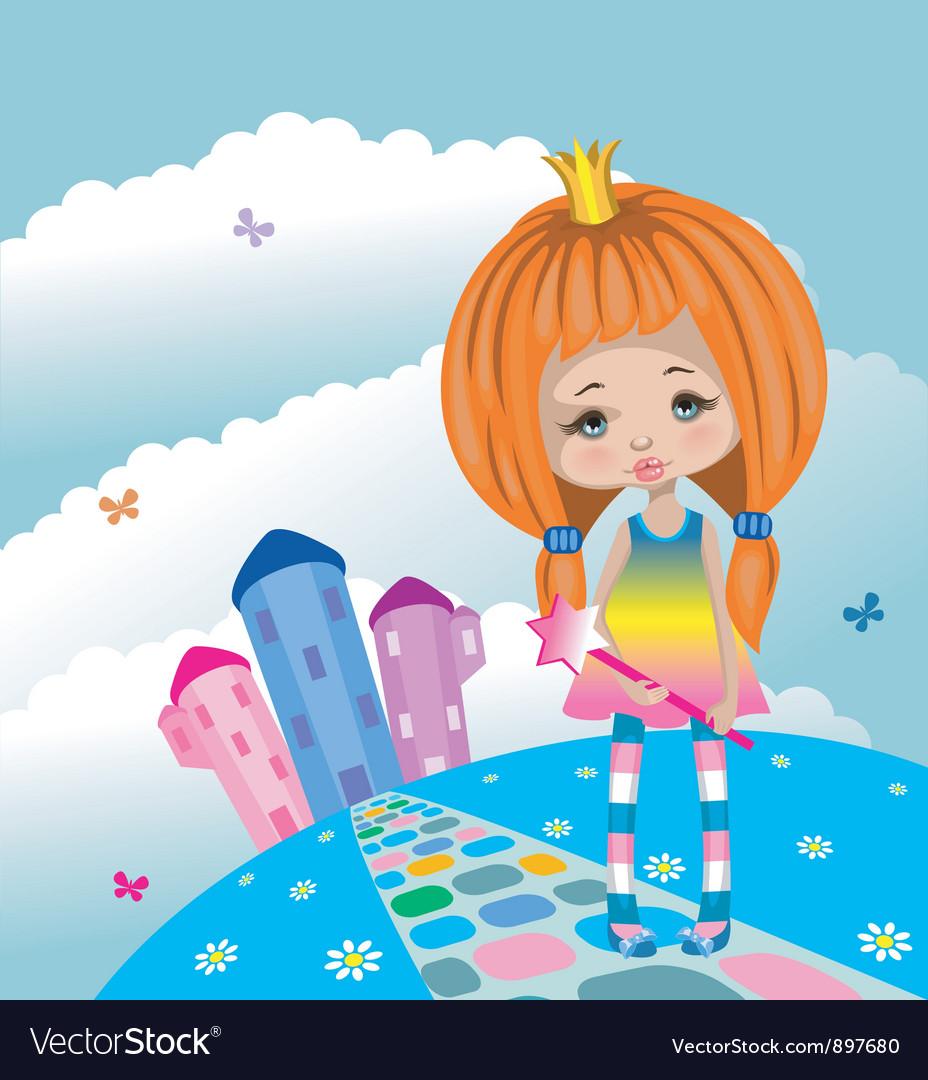 Little princess vector | Price: 3 Credit (USD $3)