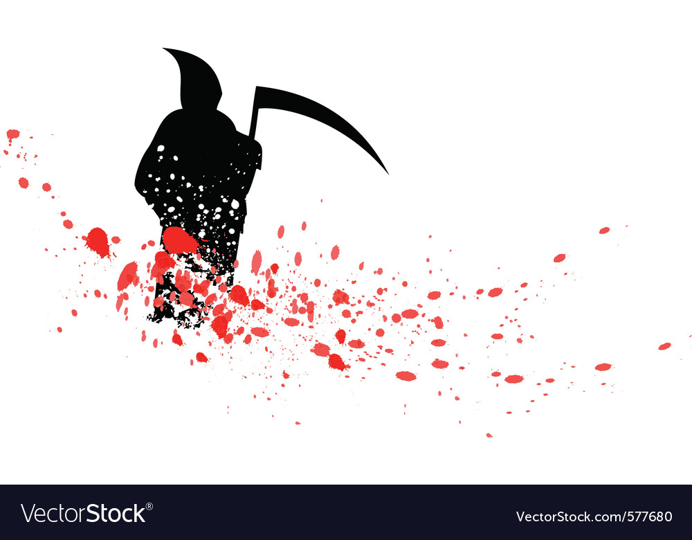 Silhouette reaper vector | Price: 1 Credit (USD $1)