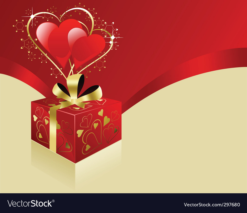 Valentine gift vector | Price: 1 Credit (USD $1)