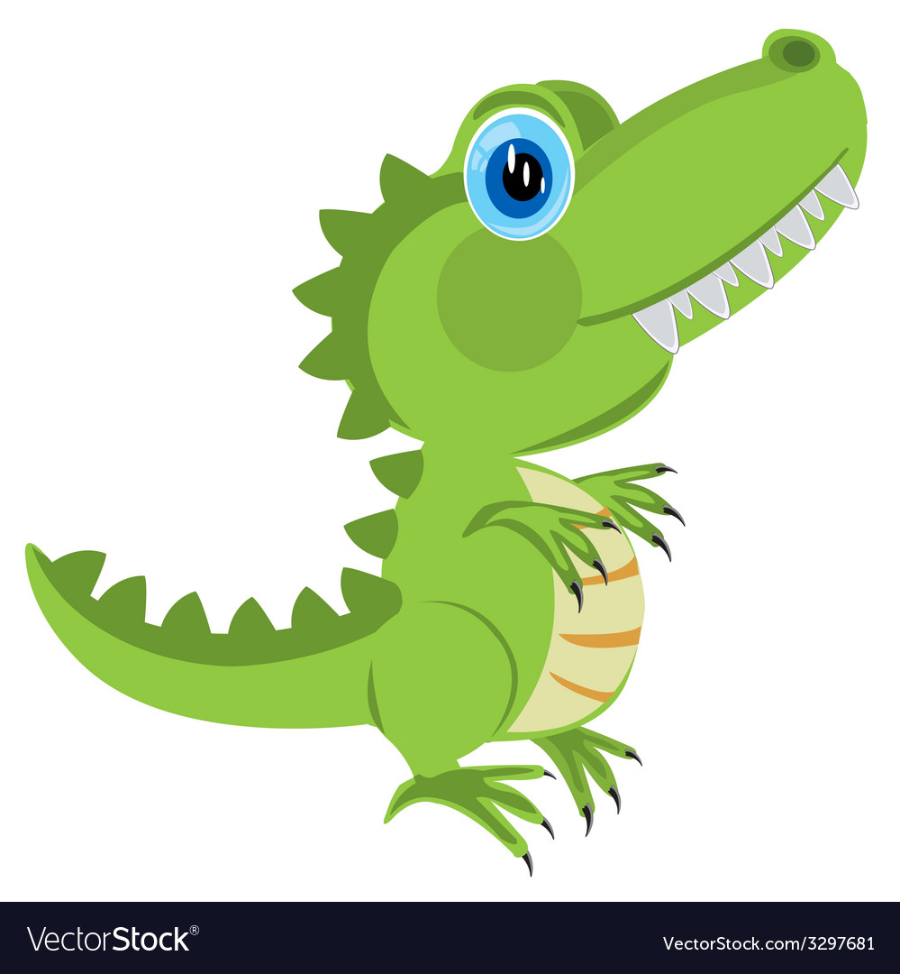 Cartoon dinosaur vector | Price: 1 Credit (USD $1)