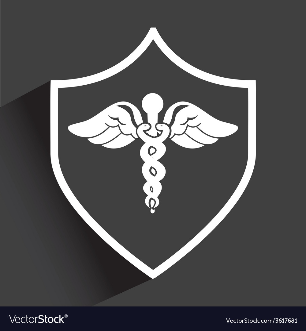 Shield medical vector | Price: 1 Credit (USD $1)