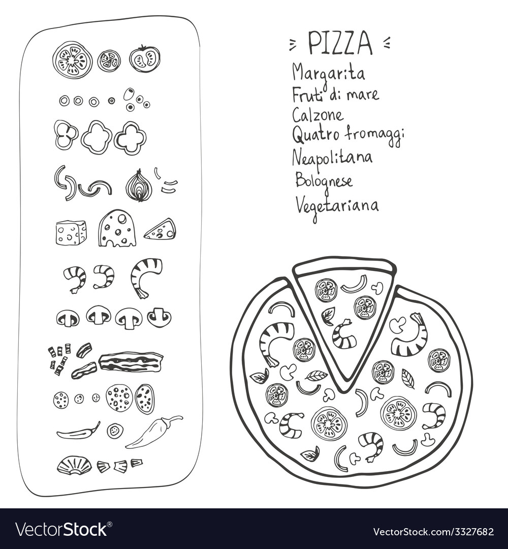 Pizzaitaliana10 vector | Price: 1 Credit (USD $1)