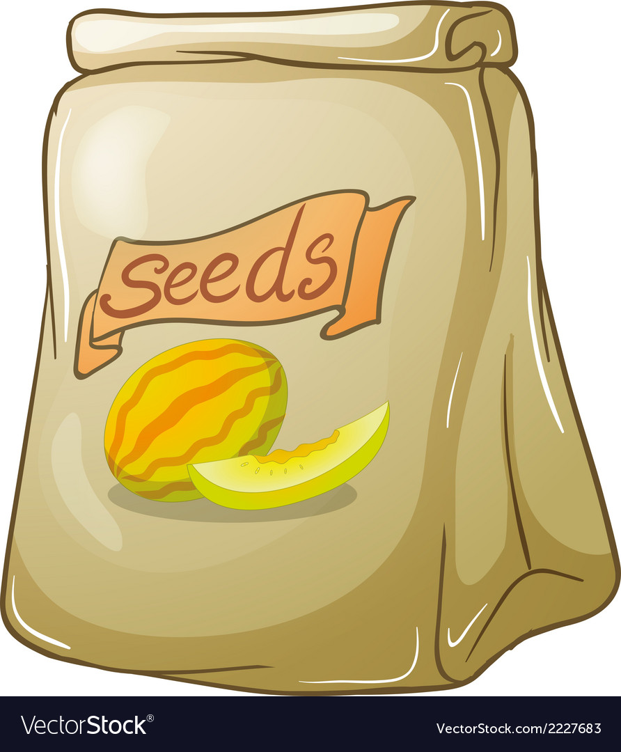 A pack of watermelon seeds vector | Price: 1 Credit (USD $1)
