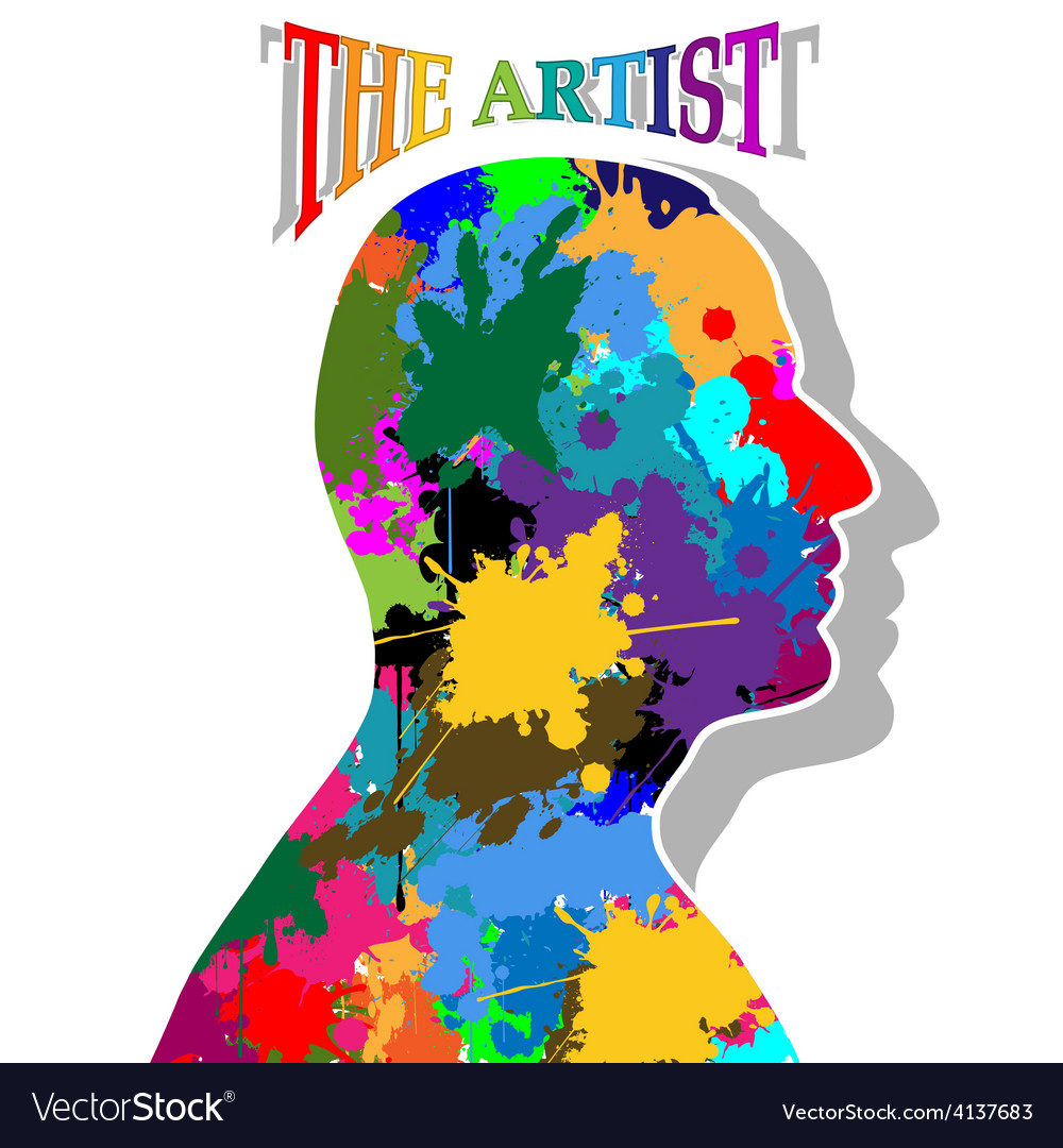 The artist vector | Price: 1 Credit (USD $1)