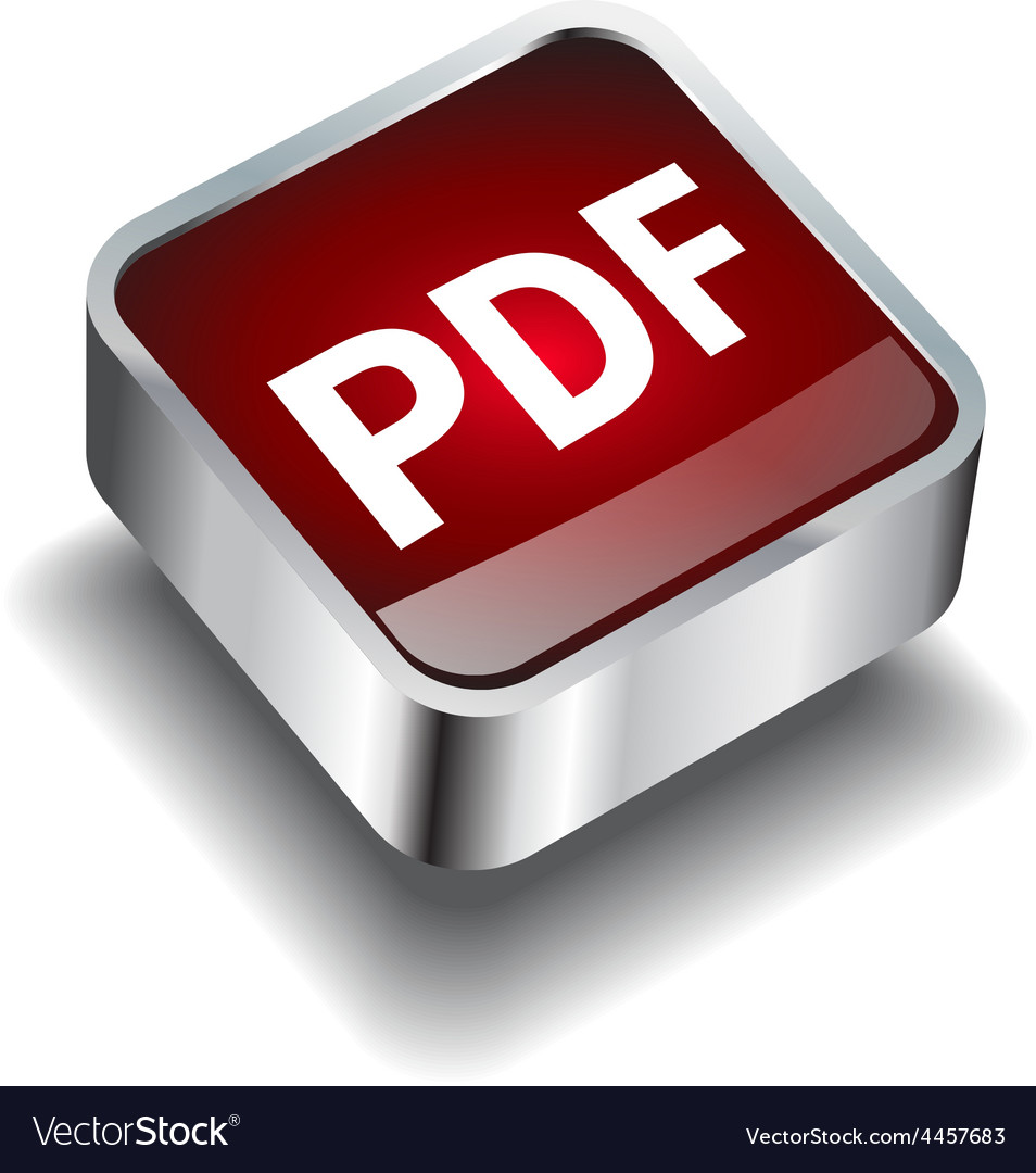 Pdf download icon button internet vector | Price: 1 Credit (USD $1)