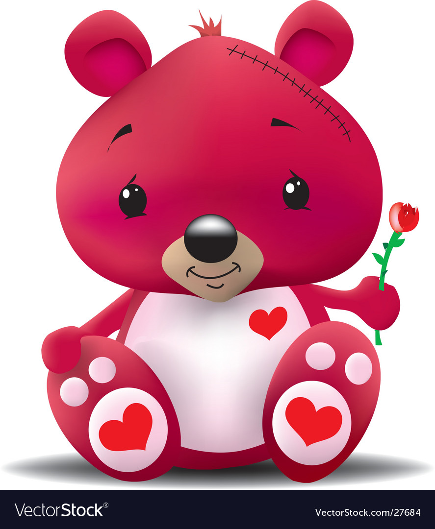 Love bear vector | Price: 1 Credit (USD $1)