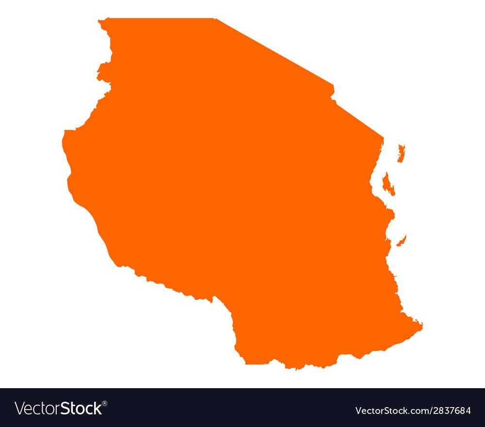 Map of tanzania vector   Price: 1 Credit (USD $1)