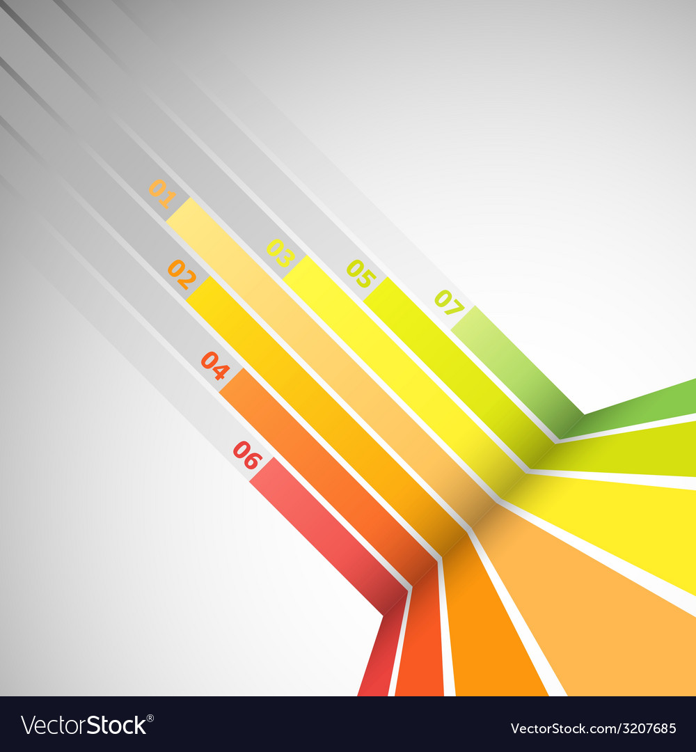 Abstract design banner with colorful lines vector   Price: 1 Credit (USD $1)