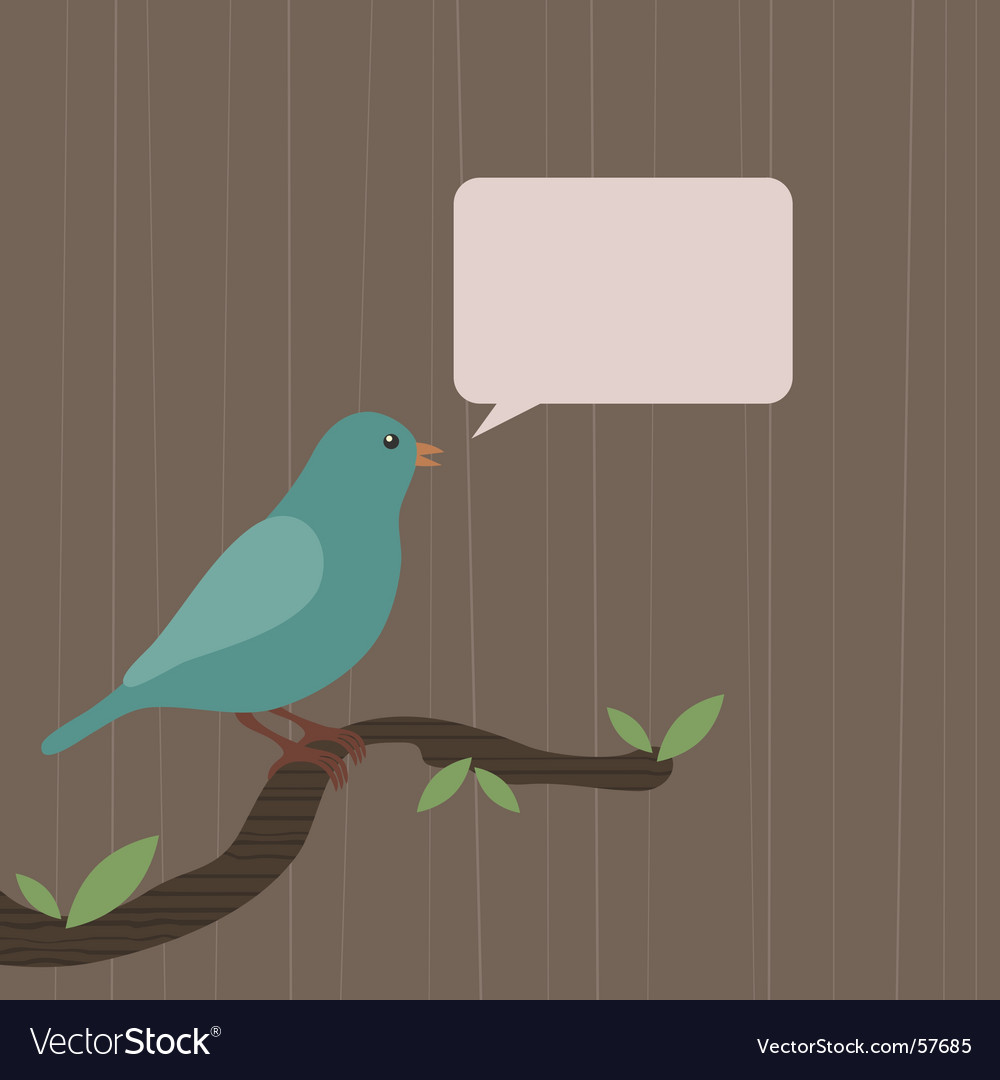 Blue canary vector | Price: 1 Credit (USD $1)