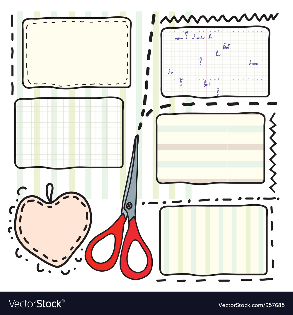 Scrapbook vector | Price: 1 Credit (USD $1)