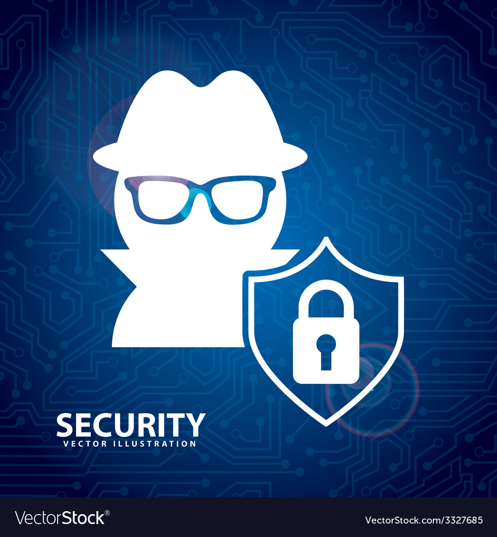 Security system design vector   Price: 1 Credit (USD $1)