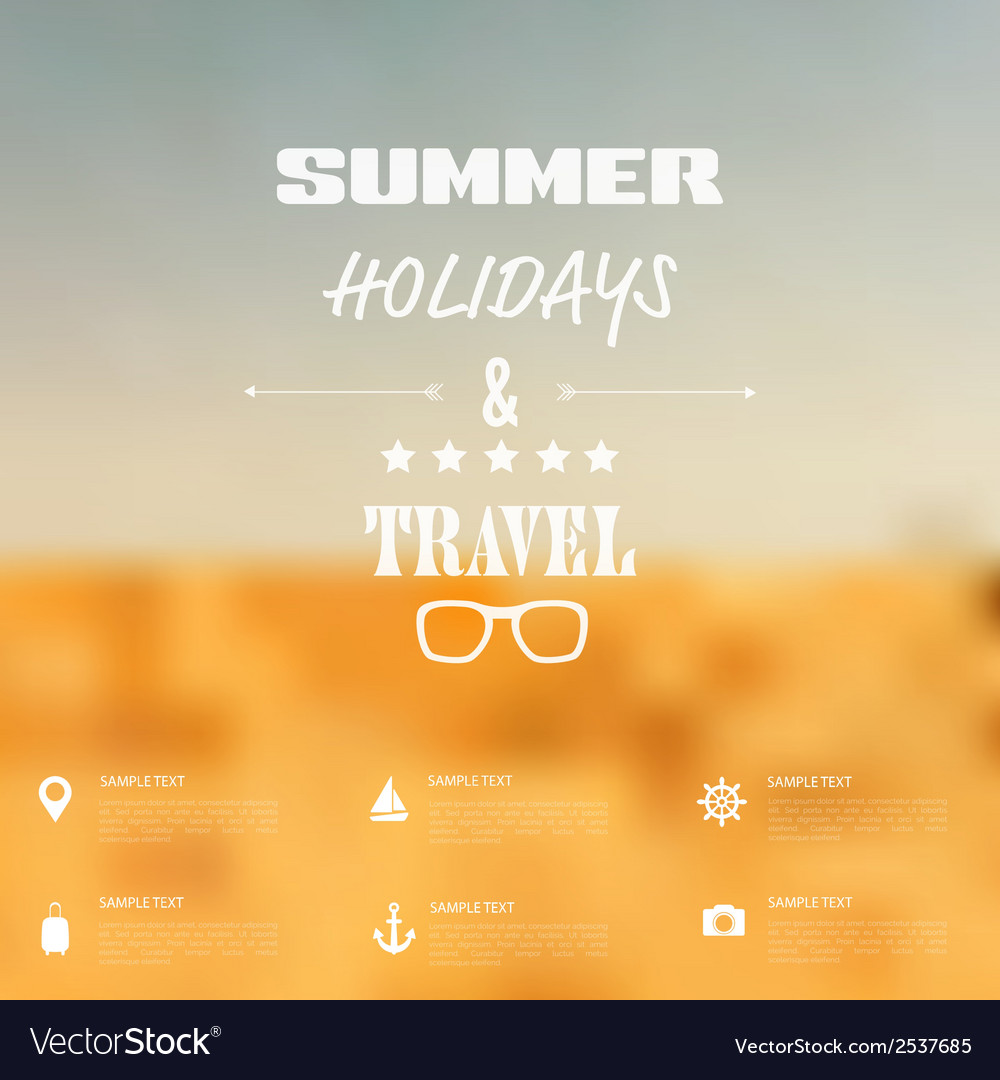 Summer abstract blurreddefocused background with vector   Price: 1 Credit (USD $1)
