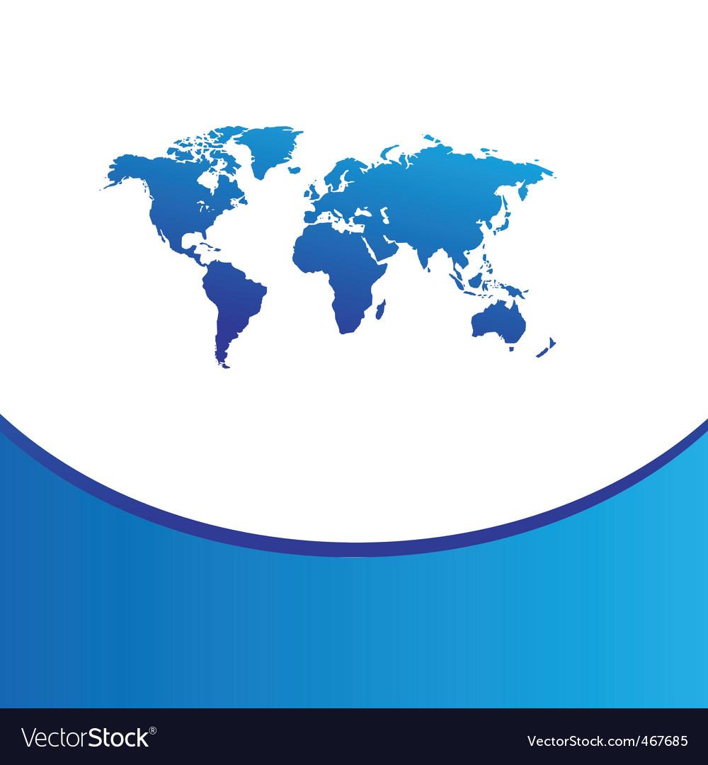 World vector | Price: 1 Credit (USD $1)