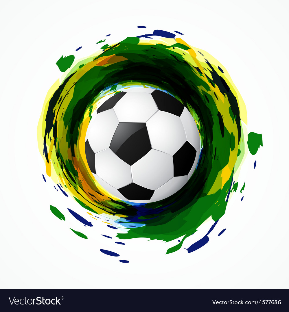 Dirty soccer game vector | Price: 1 Credit (USD $1)