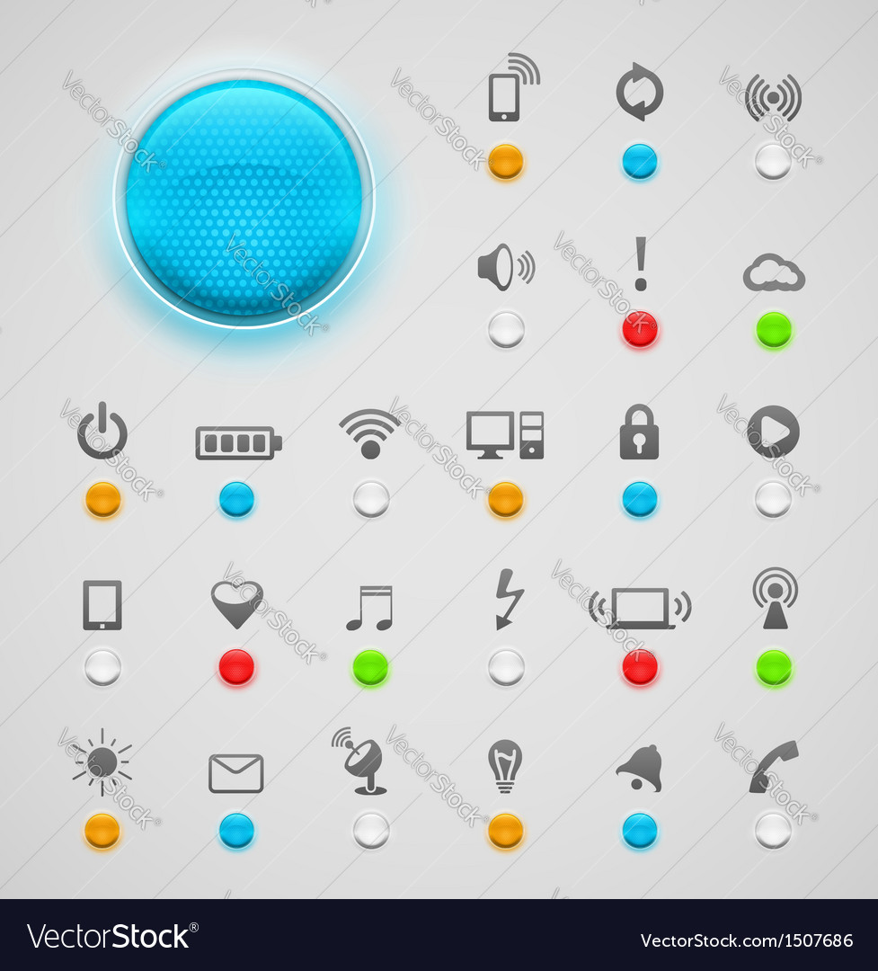 Light signal vector | Price: 3 Credit (USD $3)