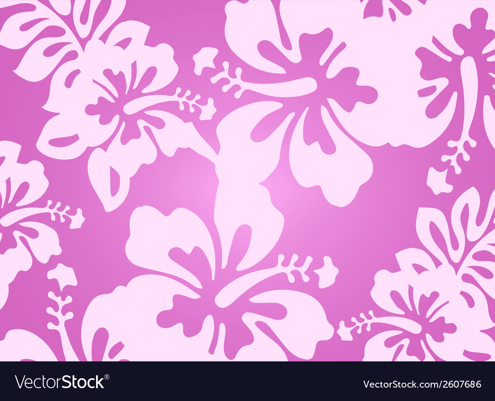 Pink decorative floral pattern vector | Price: 1 Credit (USD $1)