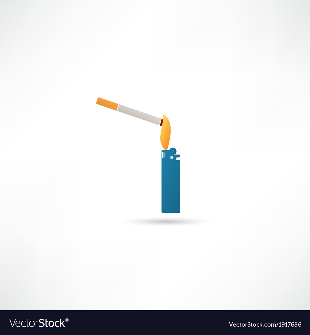 Smoking symbol vector | Price: 1 Credit (USD $1)