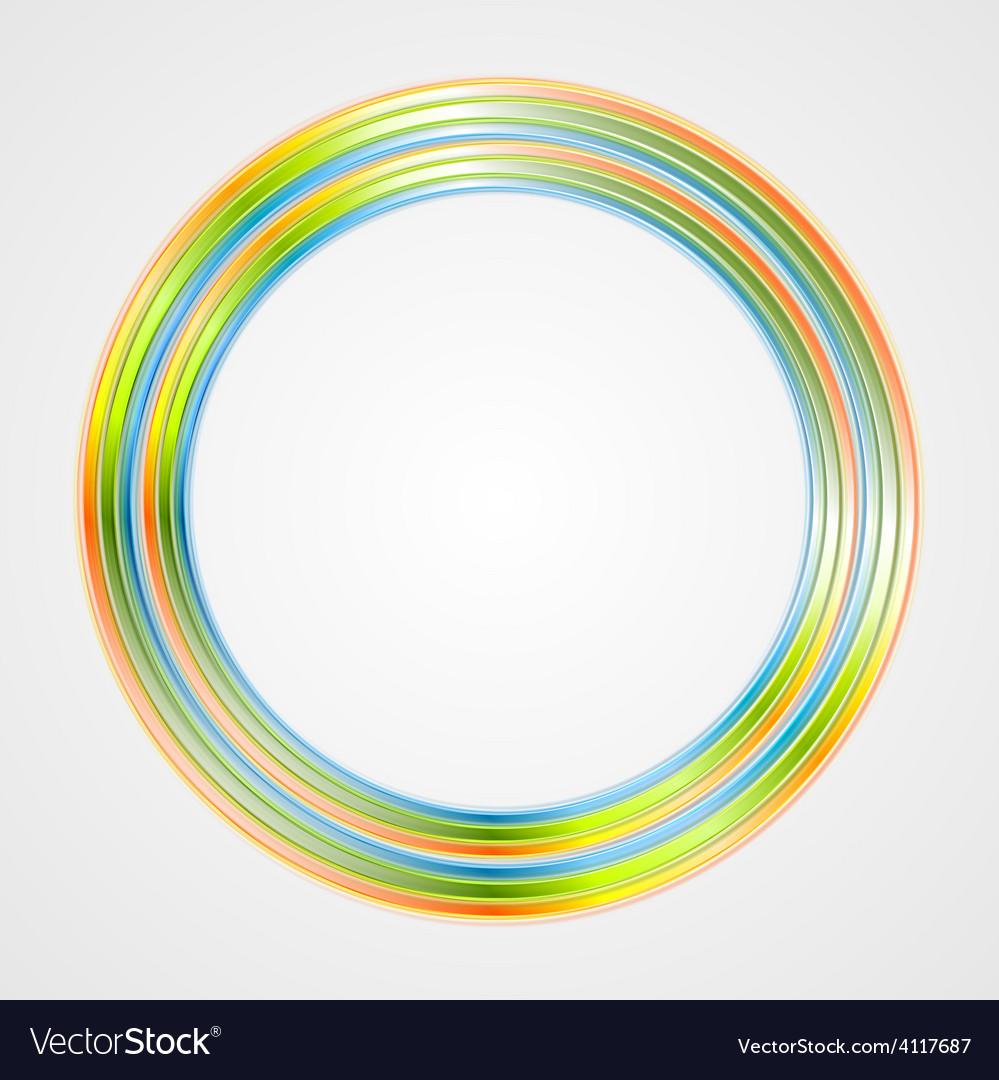 Bright circle logo background vector | Price: 1 Credit (USD $1)