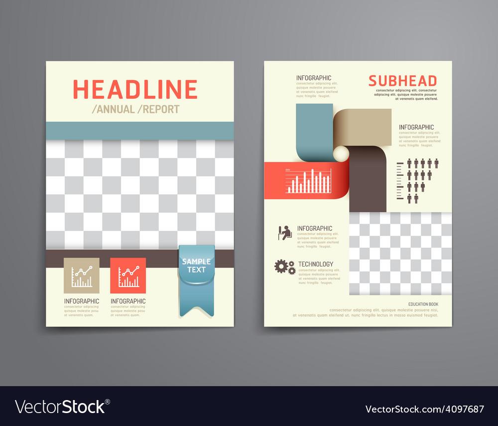 Brochure flyer magazine cover booklet poster desig vector   Price: 3 Credit (USD $3)